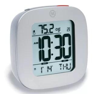 gray alarm clocks you