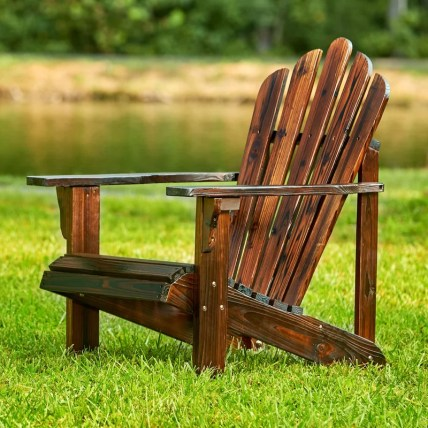 Cordelia Solid Wood Adirondack Chair