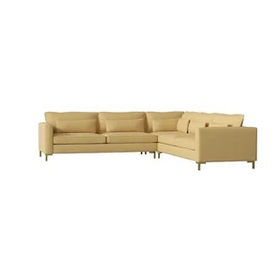 gold sectional sofa sofas for dogs mitchell wayfair quickview
