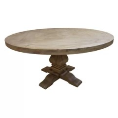 Pedestal Kitchen Table Single Bowl Undermount Sink Dining Tables Joss Main Magaw Solid Wood