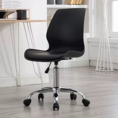 Chair With Wheels Metal Frame Chairs Arms Without Wayfair Save