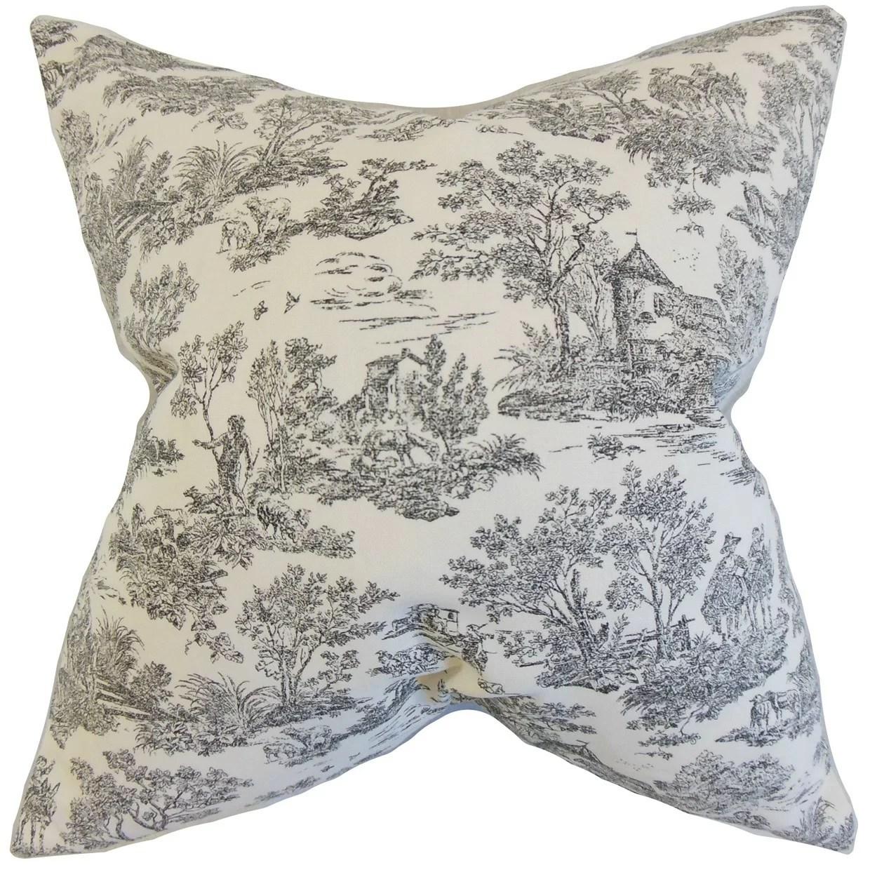 ramira toile throw pillow cover
