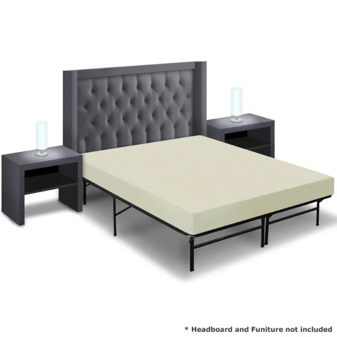 6 Memory Foam Mattress And Base Foundation Set