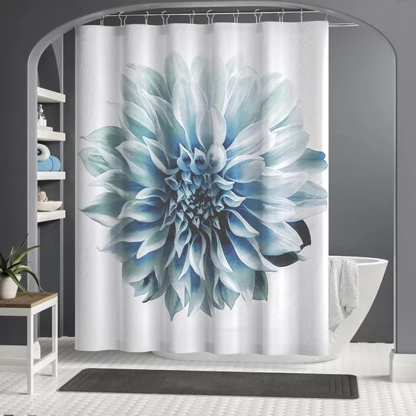 contemporary shower curtain