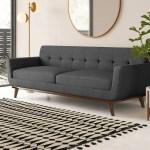 Emerson 90 5 Square Arm Sofa Reviews Allmodern