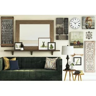 accent mirrors living room ideas with corner fireplace and tv wall full length you ll love wayfair co uk save