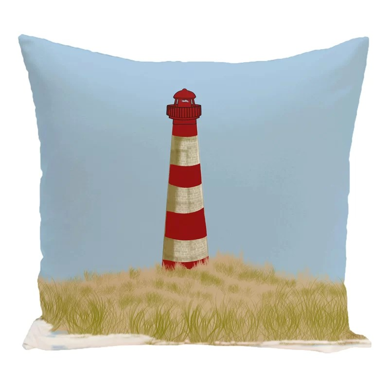 Hancock Sea Pines Geometric Print Outdoor Throw Pillow Size: 20 H x 20 W