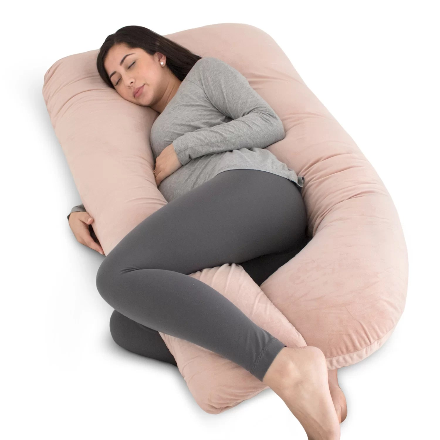 u shaped maternity pillow for pregnant women