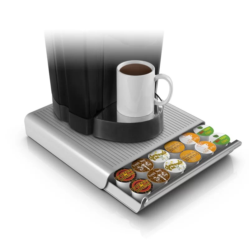Mind Reader Hero 36 Pod Drawer for Coffee Pod Storage