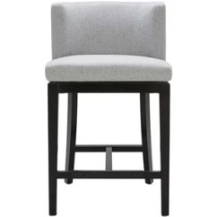 Counter Height Chair Charles Bentley Double Rattan Swing Modern Contemporary Stools Allmodern Quickview