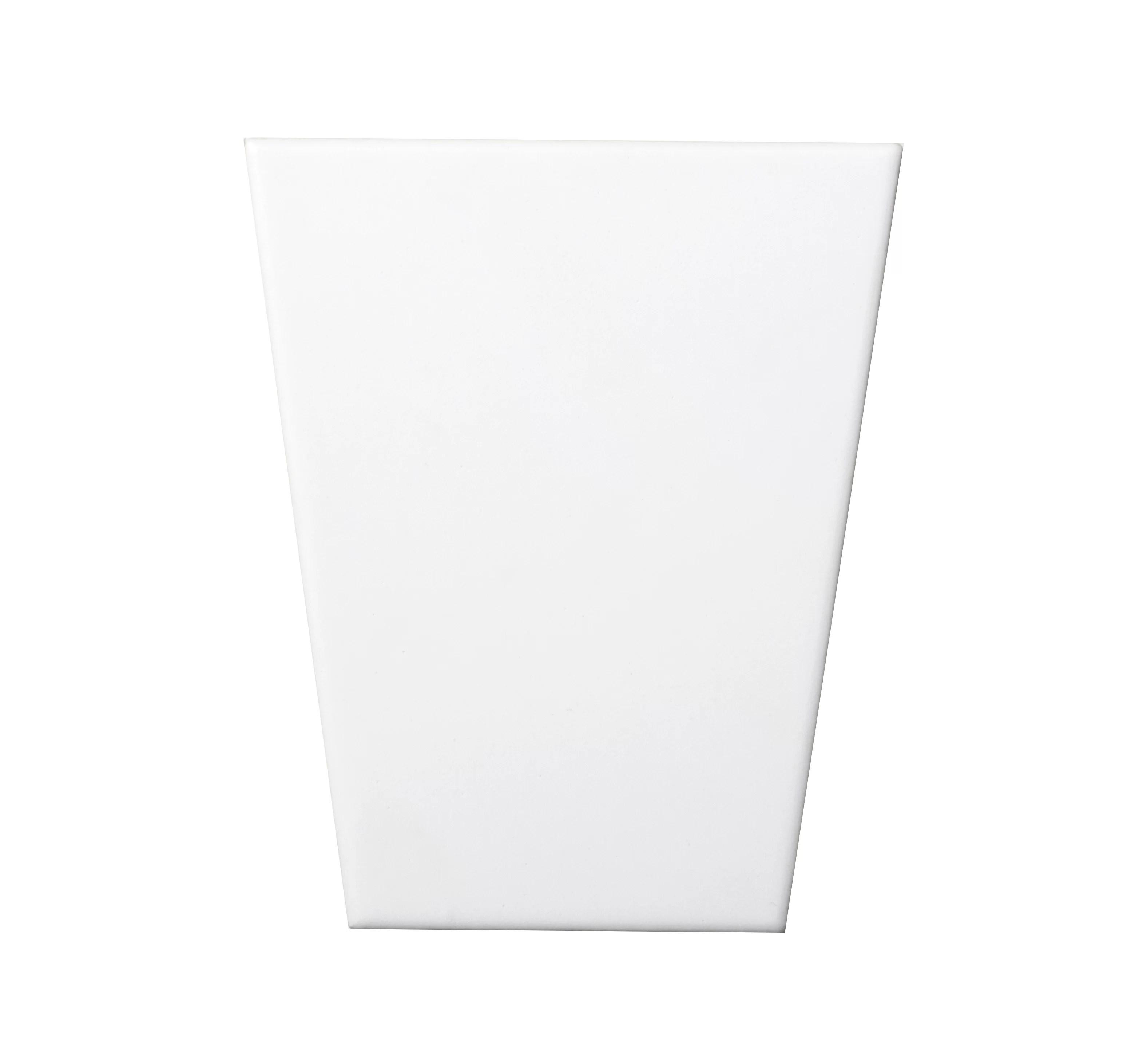 code wedge 3d 5 x 6 ceramic field tile in white