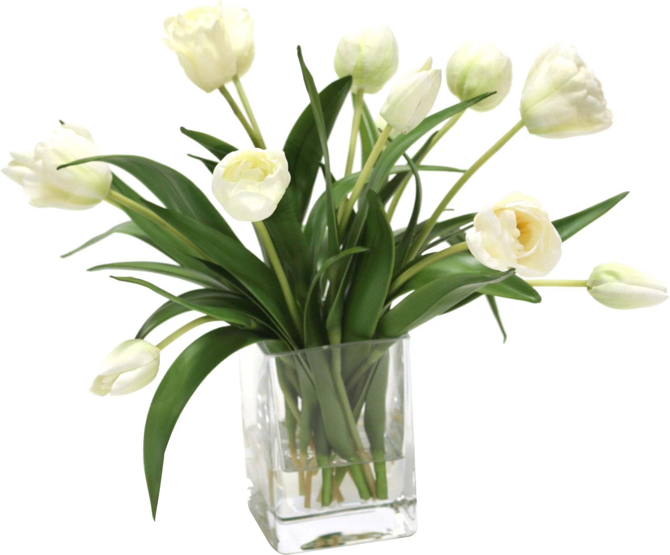 waterlook elegant tulips floral