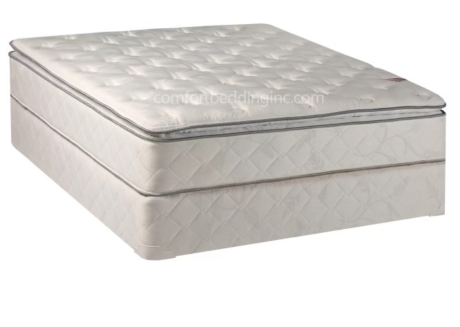 Orthopedic 10 Firm Innerspring Mattress With Box Spring