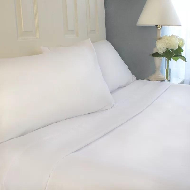 Sheet Set Size: Twin Color: White