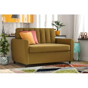color sofa beds seattle mustard wayfair brittany sleeper bed