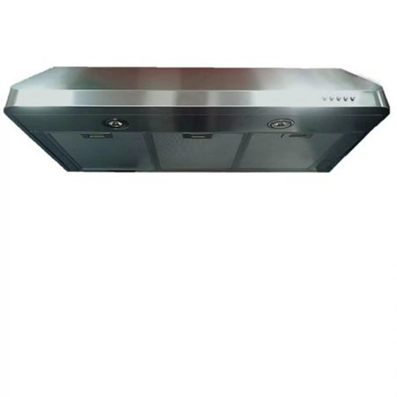 36 low profile 600 cfm convertible under cabinet range hood