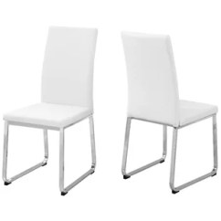Affordable Upholstered Dining Chairs Tan Office Chair Monarch Specialties Inc Set Of 2 Is The