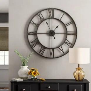 oversized wall clocks you
