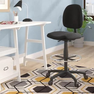 drafting table chairs adirondack chair topper you ll love wayfair quickview