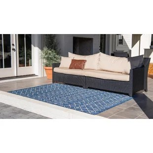 brylee southwestern power loom blue beige indoor outdoor area rug
