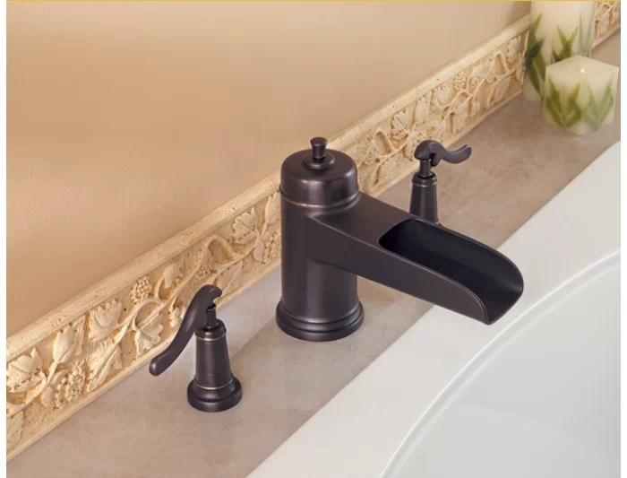 ashfield deck mounted roman tub faucet trim