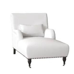 white chaise chair fishing forum lounge chairs you ll love wayfair shephard