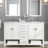 off center sink vanity wayfair