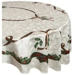 Lenox Christmas Chair Covers Chairs And Ottoman Holiday Nouveau China Wayfair Tablecloth By