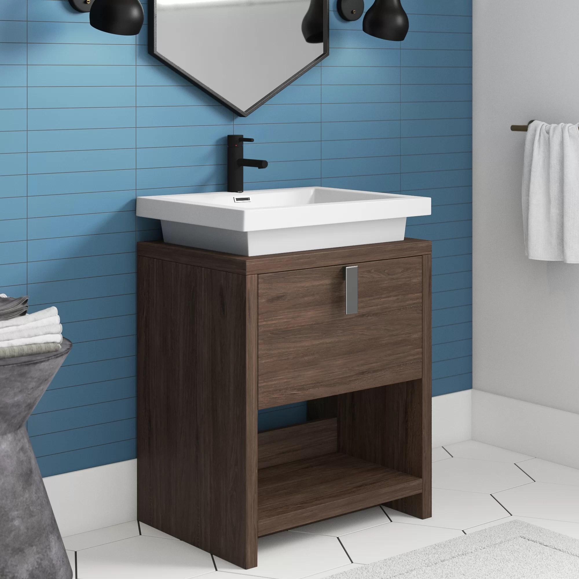 fez 24 single bathroom vanity set
