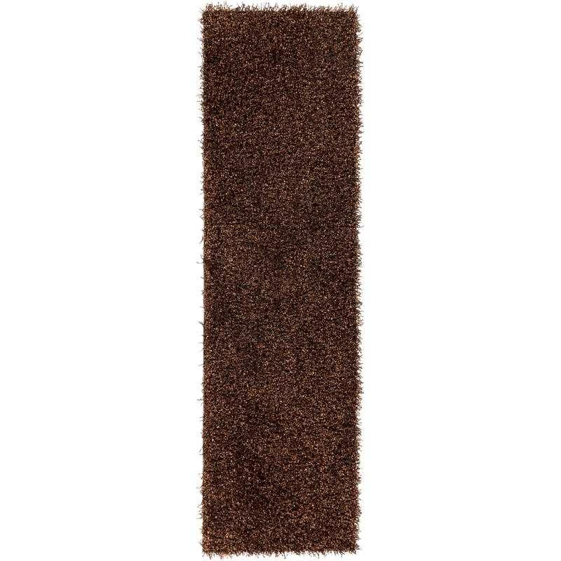 Mchaney Hand-Tufted  Brown Area Rug Rug Size: Rectangle 2 x 3