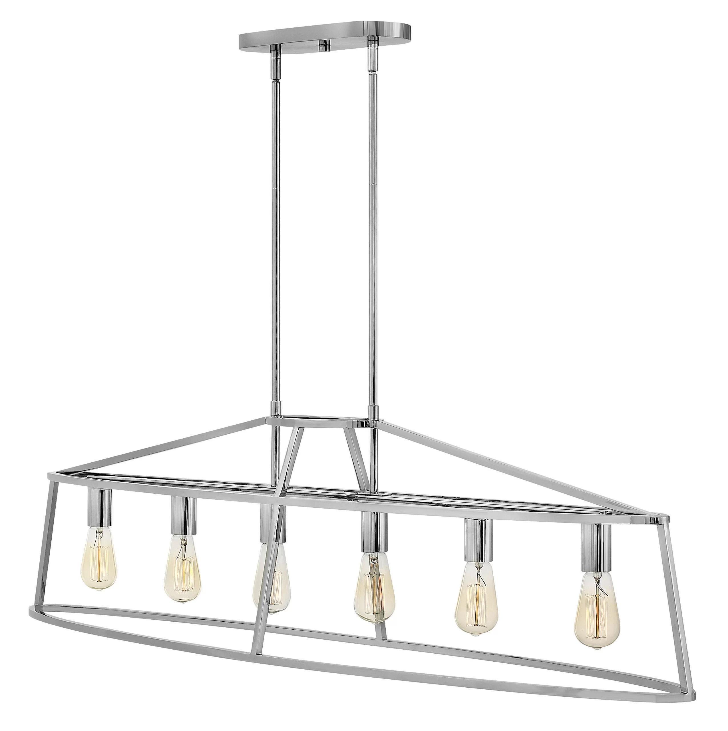 Hinkley Lighting Middleton 6 Light Kitchen Island Linear