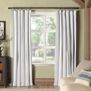 fairburn synthetic room darkening thermal rod pocket single curtain panel