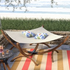 Chair Side Book Stand Cb2 Dining Chairs Beachcrest Home Arica Olefin Hammock With Reviews Wayfair