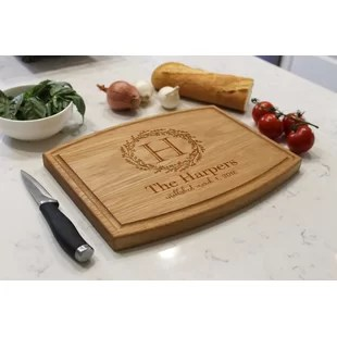 personalized cutting boards you