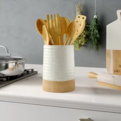 Kitchen Crock Tables For Small Spaces Find Utensil Crocks Your Wayfair