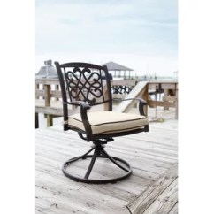 Swivel Rocker Outdoor Dining Chairs Desk Chair India Patio You Ll Love Wayfair Hanson With Cushion Set Of 2