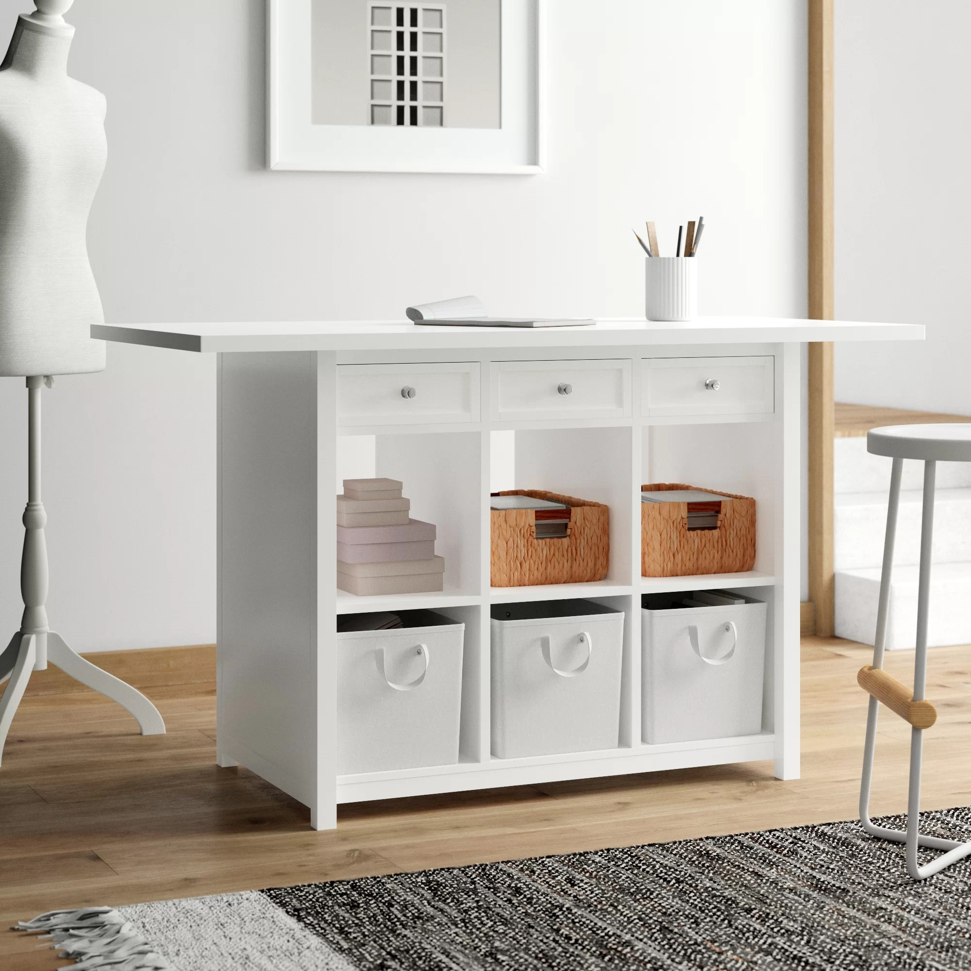 Storage Craft Sewing Tables You Ll Love In 2020 Wayfair
