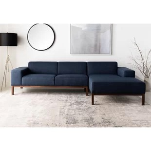 dove 109 45 wide right hand facing sofa chaise