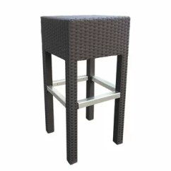 Metal Stacking Chairs Outdoor Cosco High Chair Adjust Wicker Wayfair 30 3 Patio Bar Stool