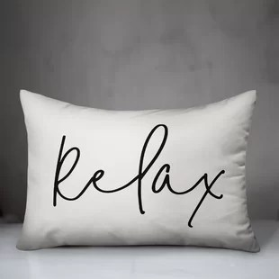 mcgee relax thin outdoor rectangular pillow cover insert