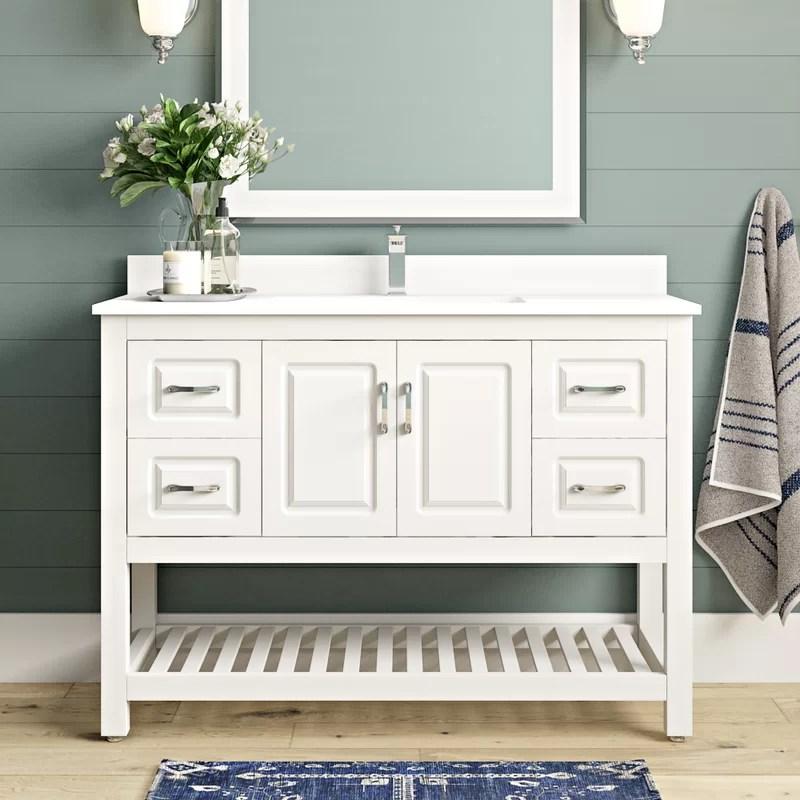 Needville 47 Single Bathroom Vanity Set Reviews Joss Main