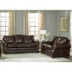 Canora Grey Pelaez 2 Piece Leather Sleeper Living Room Set Wayfair
