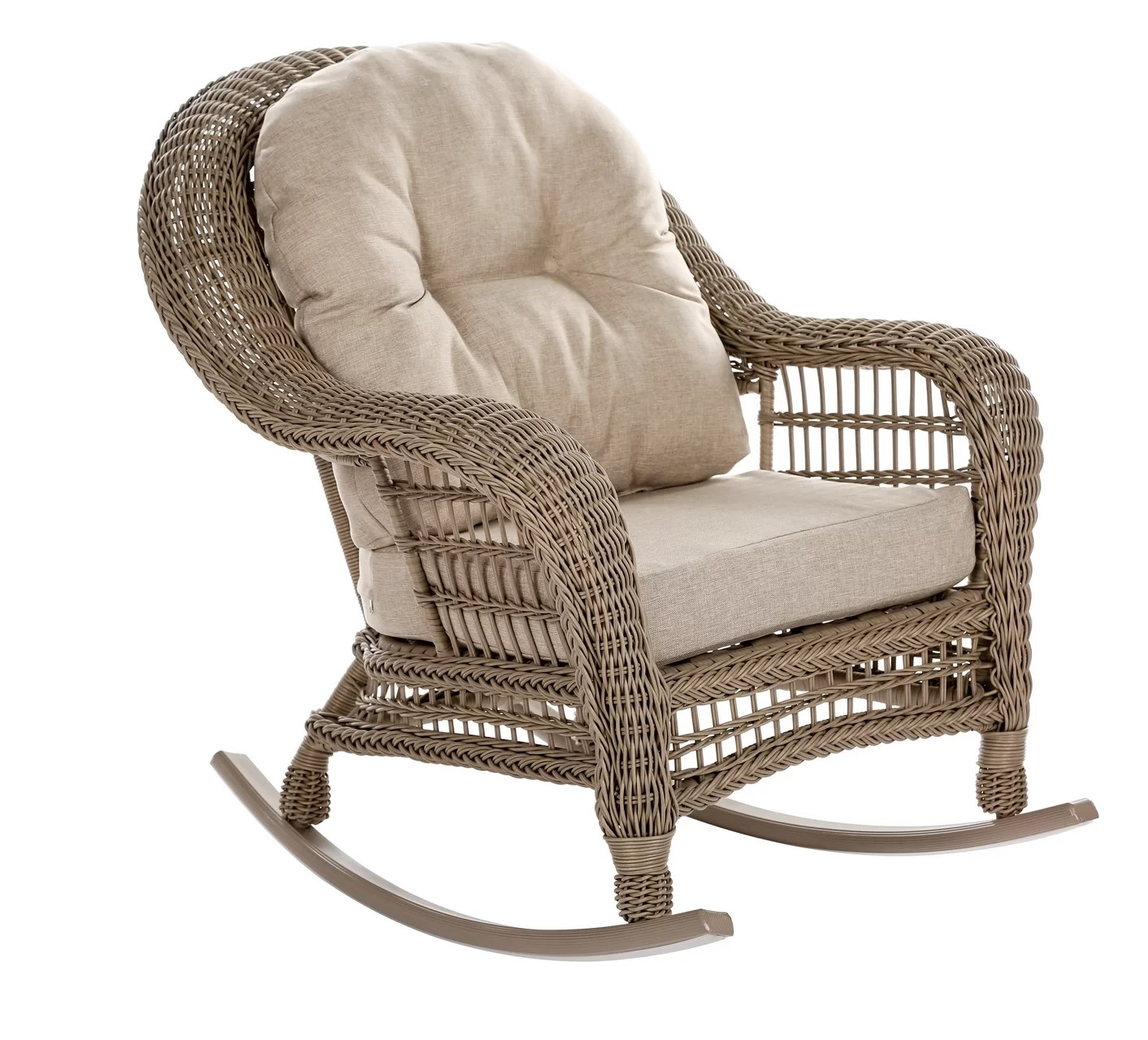 garden patio rocking chair with cushions