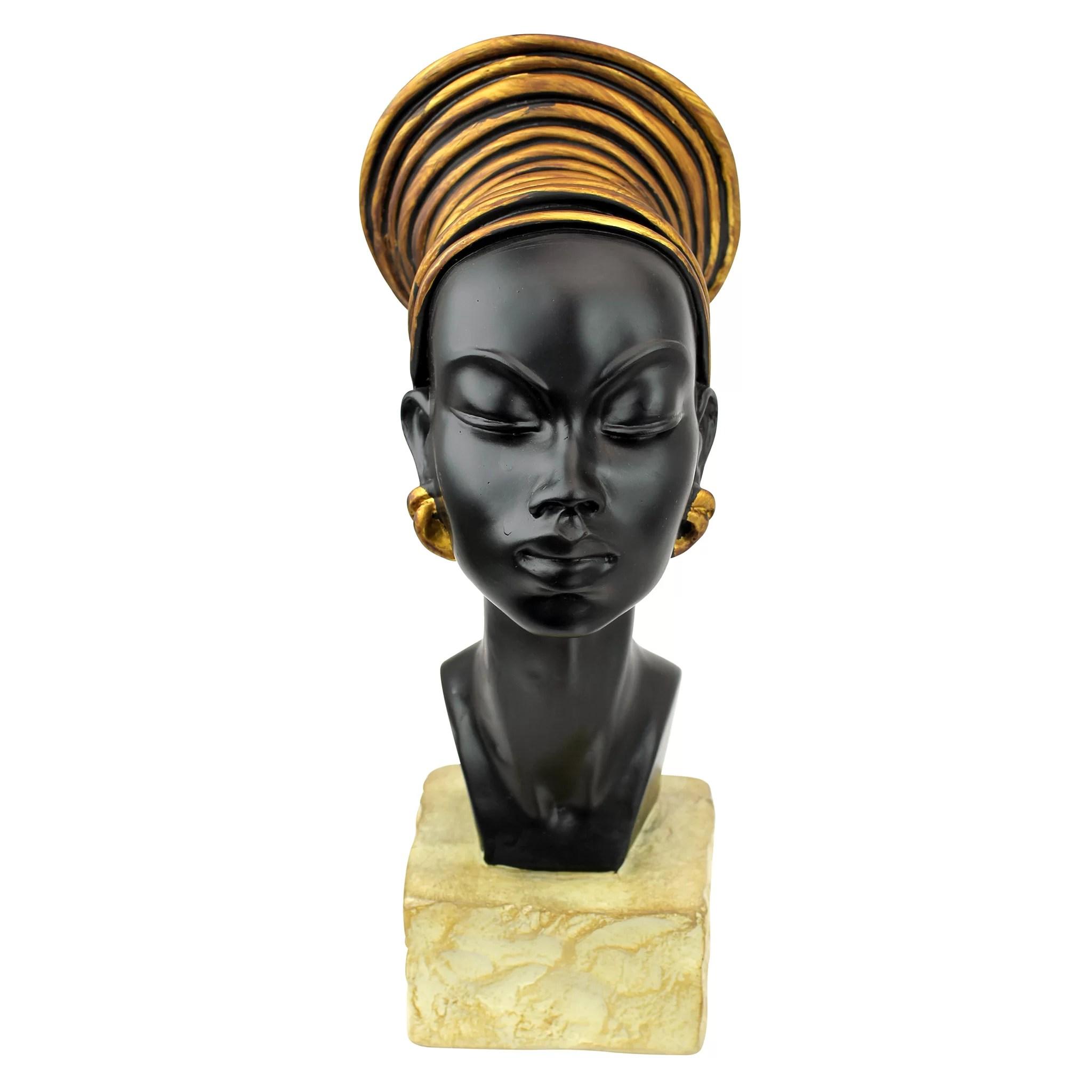 Design Toscano Nubian Kandake Sculptural Bust  Reviews