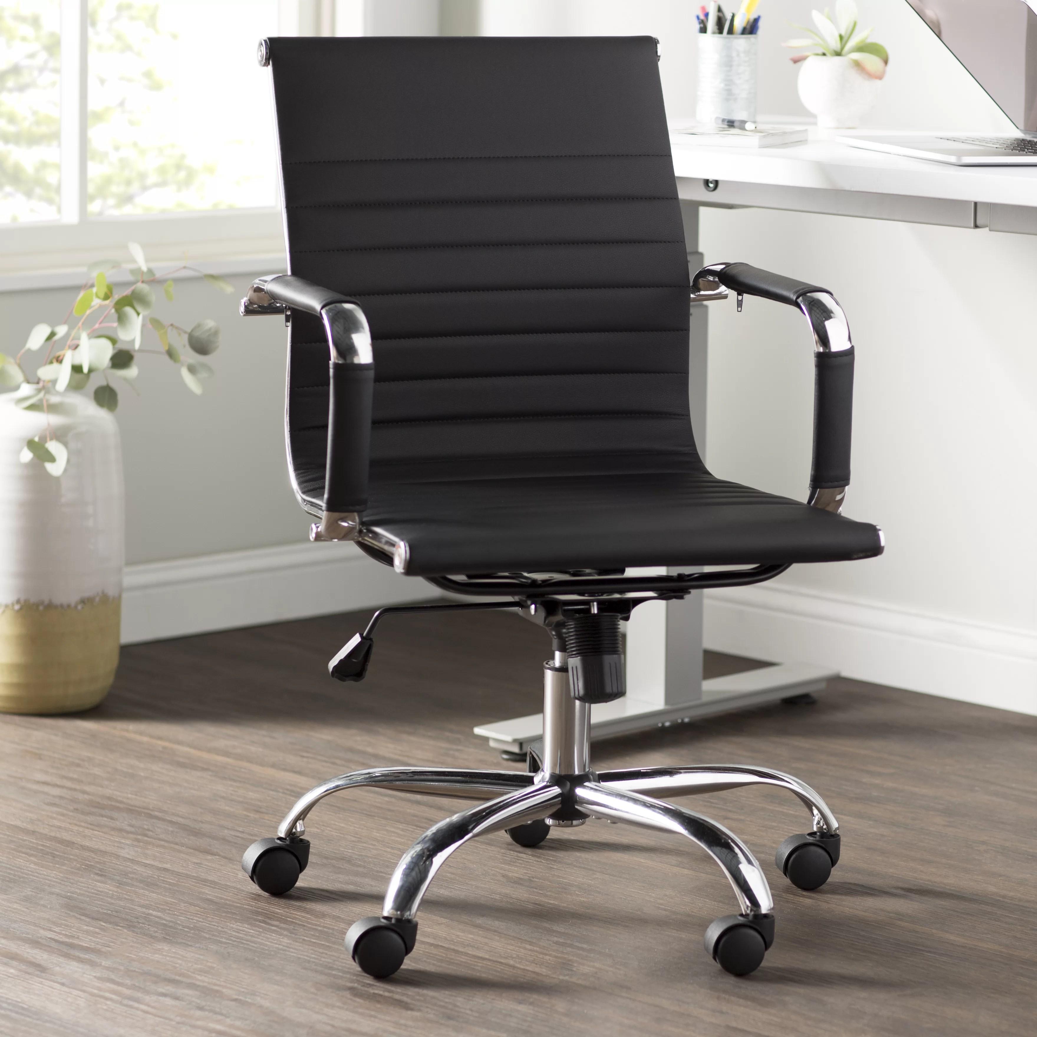 wayfair desk chairs swivel chair approach basics high back reviews allmodern