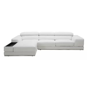 Shurtz Leather Sectional