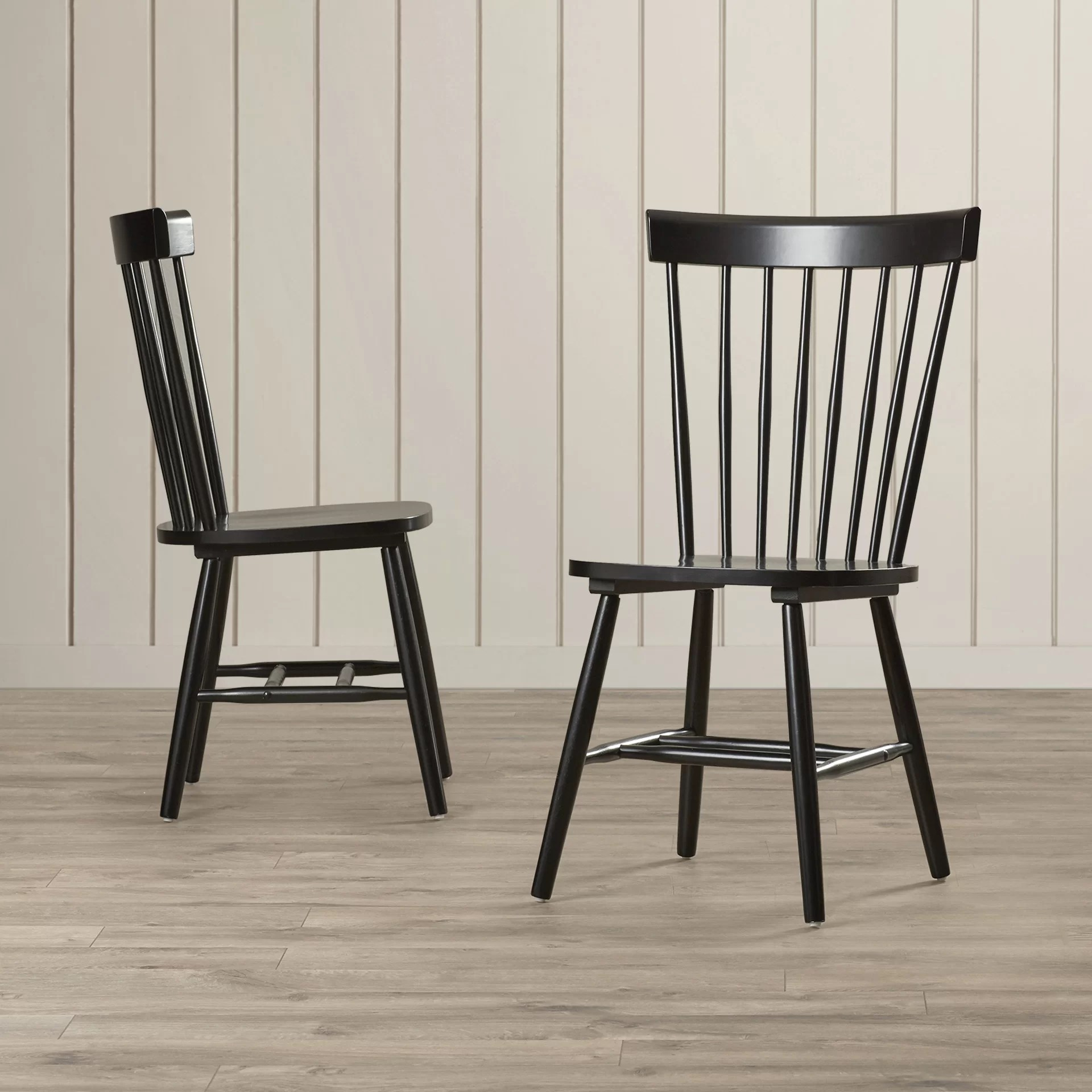 Wood Dining Chairs Breakwater Bay Benton Solid Wood Dining Chair And Reviews