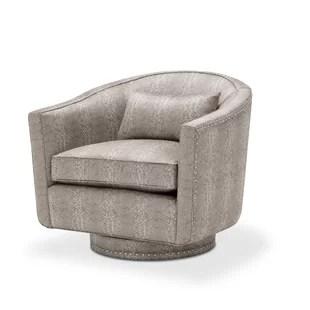 natuzzi swivel chair wall hugger recliner wayfair glimmering heights barrel