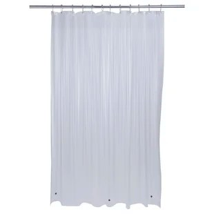 escarpita heavy grommet plastic solid shower curtain liner