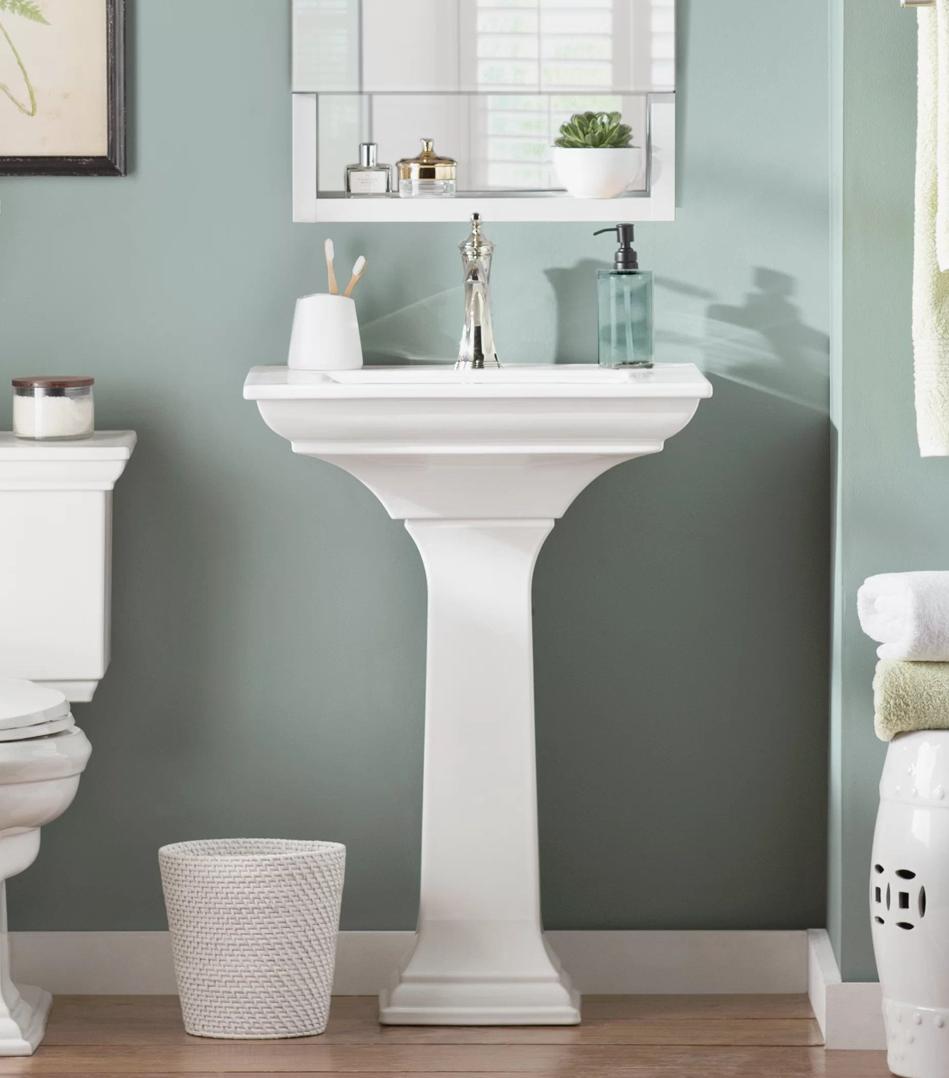 pedestal bathroom sinks you ll love in
